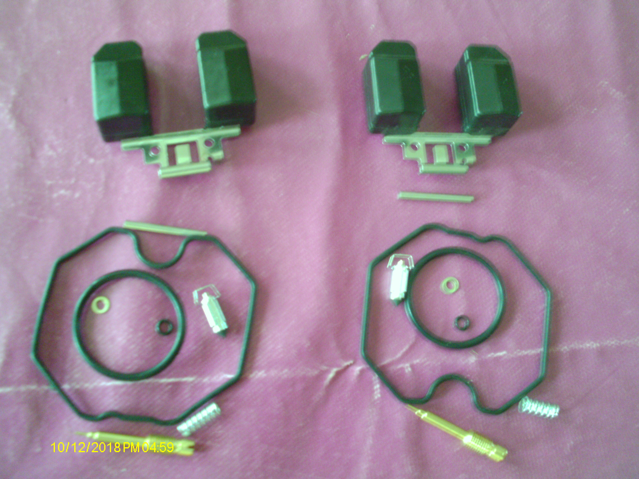 Kit réparation carburateur semi complet; Honda 125 Twin T1, T2