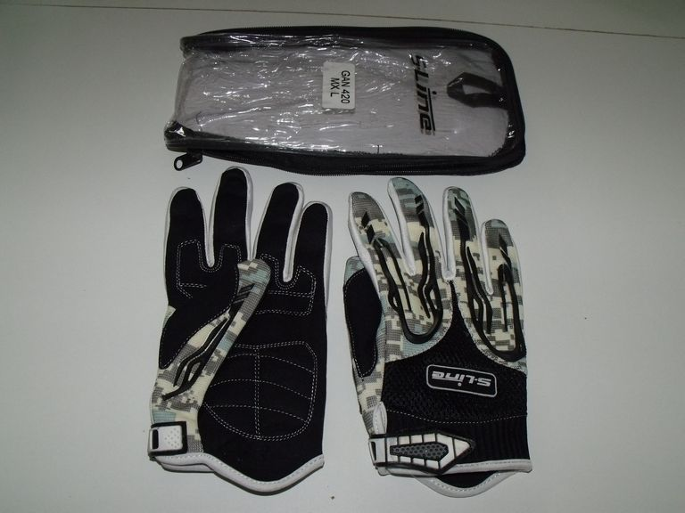 Gants cross, ville, route ou paint-ball, type camouflage