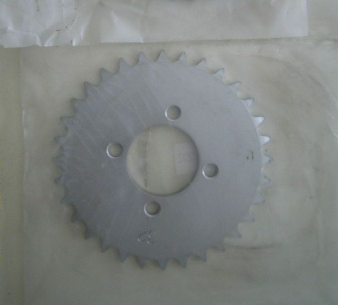Yamaha Chappy 1er modèle: Couronne de transmission AR 32 dents