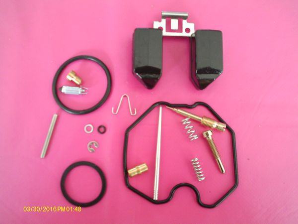 Kit réparation carburateur ultra complet, Honda 125XR, 125XLS