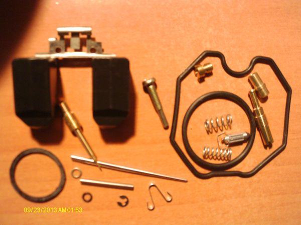 Honda 125CMC/CMT/CA: Kit réparation carburateur, ultra complet
